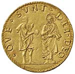 FERRARA Alfonso I (1503-1534) Doppio ducato ...