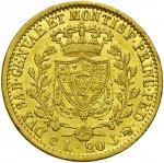 Carlo Felice (1821-1831) 20 Lire 1827 G – ...