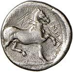 TESSAGLIA Phalanna Dracma (400-344 a.C.) ...