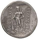 Thasos - Tetradramma - Testa di Dioniso a d. ...