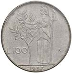 REPUBBLICA ITALIANA 100 Lire 1957 - AC ...