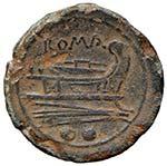 Anonime - Sestante (211-206 a.C.) Testa di ...