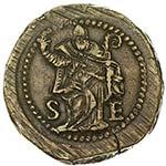 MILANO Carlo V (1535-1556) Peso monetario ...