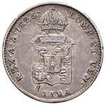 MILANO Francesco I (1815-1835) Mezza lira ...