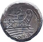 Pinaria (155 a.C.) Quadrante - Testa di ...