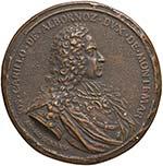 NAPOLI Medaglia 1735 ...
