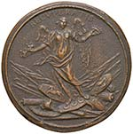 NAPOLI Medaglia 1735 Omaggio a Giuseppe ...
