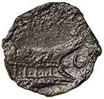 Titia - Q. Titius (90 a.C.) Asse - Testa di ...