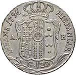 NAPOLI Ferdinando IV (1759-1816) Piastra ...