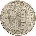 NAPOLI Ferdinando IV (1759-1799) Piastra ...