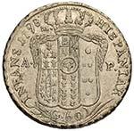 NAPOLI Ferdinando IV (1759-1799) Mezza ...