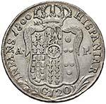 NAPOLI Ferdinando IV (1799-1805) Piastra ...
