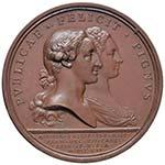 NAPOLI Medaglia 1765 - Carlo III - Per il ...