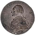 NAPOLI Medaglia 1799 (?) - Lamierino per Re ...