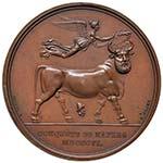 NAPOLI Medaglia 1806 - L'imperatore ...