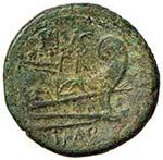 Sesto Pompeo - Asse (43-36 a.C.) Testa di ...