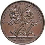 NAPOLI Medaglia 1816 - Per le nozze del duca ...