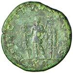 Diadumeniano (217-218) Sesterzio - Busto a ...