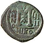 BISANZIO Giustino II (565-578) Follis ...