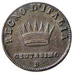 BOLOGNA Napoleone (1805-1814) Centesimo 1809 ...