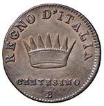 BOLOGNA Napoleone (1805 - 1814) Centesimo ...