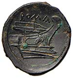 Anonime Semuncia (217-215 a.C.) Testa di ...