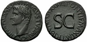 Augusto (27 a.C. - 14 d.C.), Asse, ...