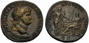 Nerone (54-68), Sesterzio, ...