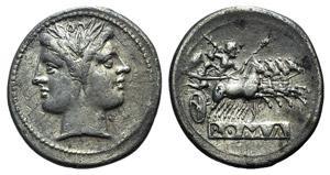 Anonymous, c. 225-212 BC. AR ...