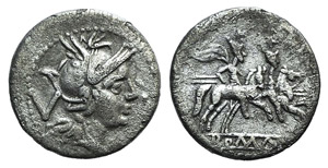 Anonymous, Rome, 211-208 BC. AR ...