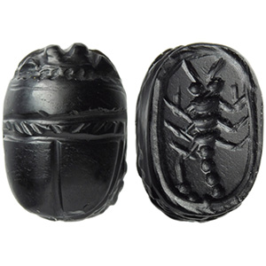 Onyx scarab with scorpion 5th - ...