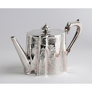Teiera Vittoriana in argento ...