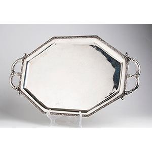 Vassoio ART DECO in argento 800‰ ...