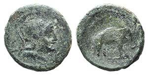 Campania, Capua, c. 216-211 BC. Æ ...
