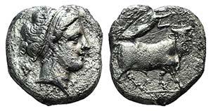 Campania, Neapolis, c. 300-275 BC. ...