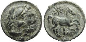 Apulia, Luceria, Cast Nummus, c. ...