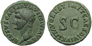 Drusus Minor (Titus, 79-81), As, ...