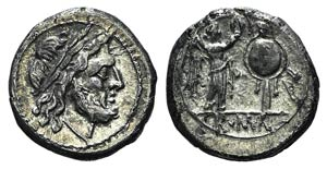 Anonymous, Rome, after 218 BC. AR ...