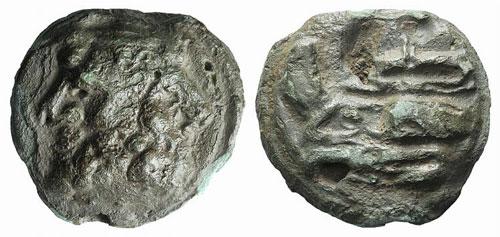 Anonymous, Rome, 215-212 BC. Æ ...