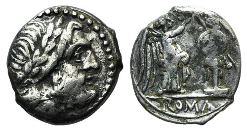 Anonymous, Rome, after 211 BC. AR ...