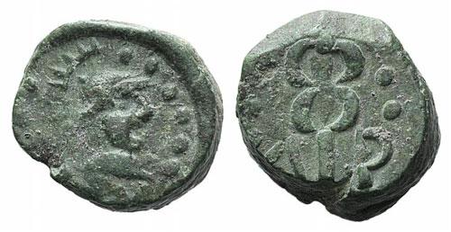 Gaul, Massalia, after 49 BC. Æ ...