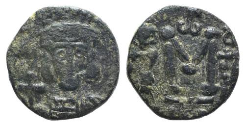 Constantine IV (668-685). Æ 40 ...