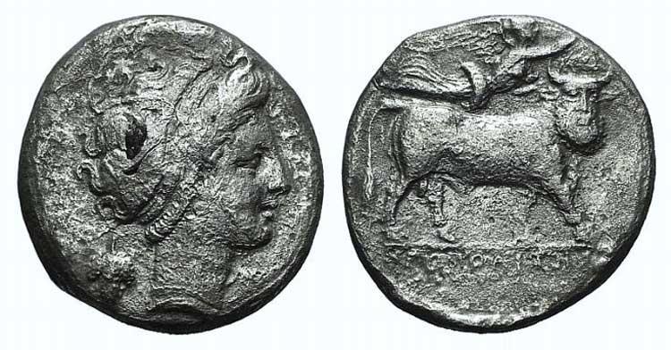 Campania, Neapolis, c. 320-300 BC. ...