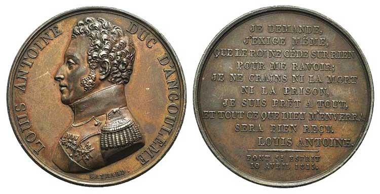 France, Louis Antoine Duke of ...