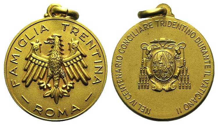 Italy, Gilt Medal (34mm, 9.97g, ...