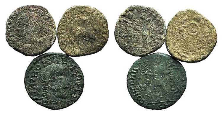 Lot of 3 Æ Barbaric Imitations, ...