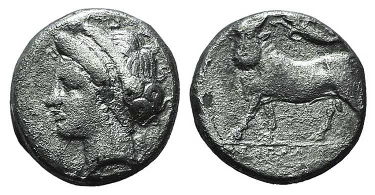 Campania, Neapolis, c. 275-250 BC. ...