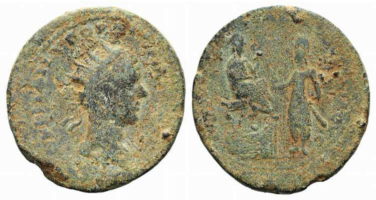 Gordian III with Abgar X Phraates ...