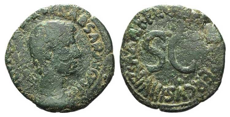 Augustus (27 BC-AD 14). Æ As ...