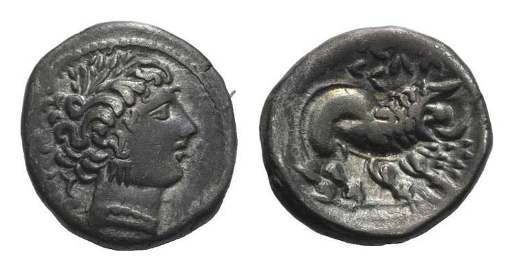 Gaul, Southern. Insubres, 2nd ...